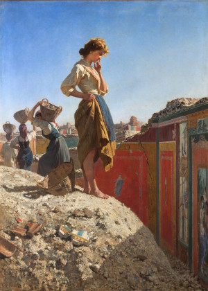 10 Filippo Palizzi, Donne che scavano a Pompei